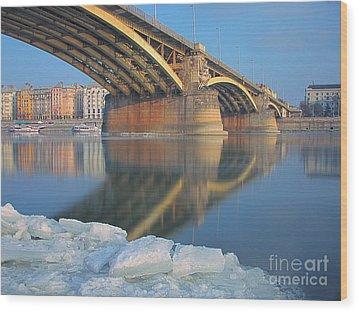 The Bridge Wood Print by Odon Czintos