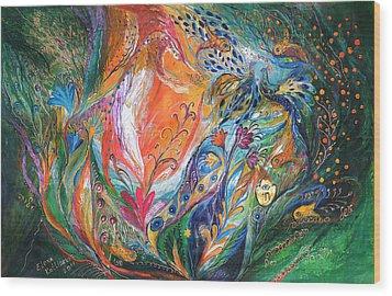 The Glade Wood Print by Elena Kotliarker