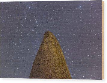 Xarez Cromlech Wood Print by Andre Goncalves