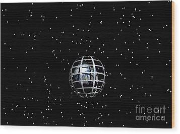 Planet Wood Print by Odon Czintos