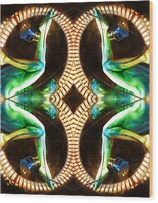 Untitled Wood Print by Adam Vance