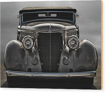 '36 Ford Convertible Coupe Wood Print by Douglas Pittman