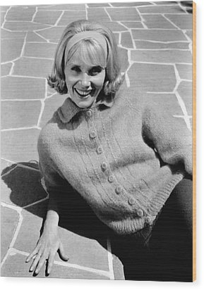 36 Hours, Eva Marie Saint, 1964 Wood Print by Everett