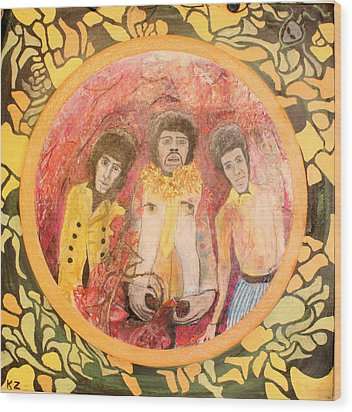 Are You Experienced. Wood Print by Ken Zabel