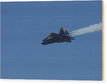 4 Blue Angels Wood Print