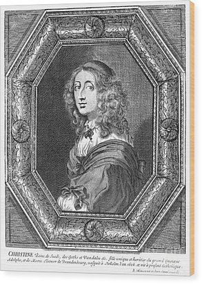 Christina (1626-1689) Wood Print by Granger