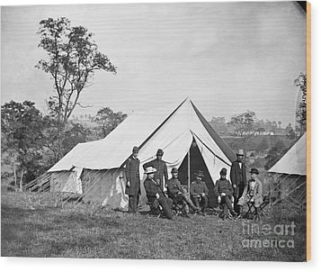 Civil War: Antietam, 1862 Wood Print by Granger