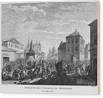 French Revolution, 1790 Wood Print by Granger