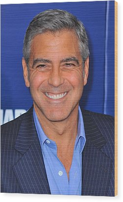 George Clooney At Arrivals For The Ides Wood Print by Everett