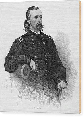 George Custer (1839-1876) Wood Print by Granger