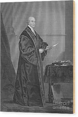 John Jay (1745-1829) Wood Print by Granger