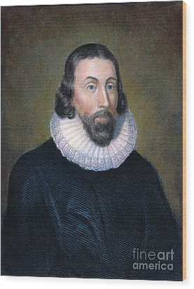 John Winthrop (1588-1649) Wood Print by Granger