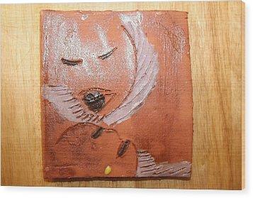 Mama - Tile Wood Print by Gloria Ssali