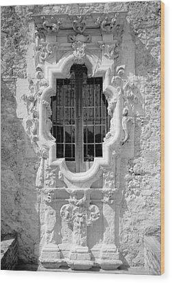 Mission San Jose Y San Miguel De Wood Print by Everett