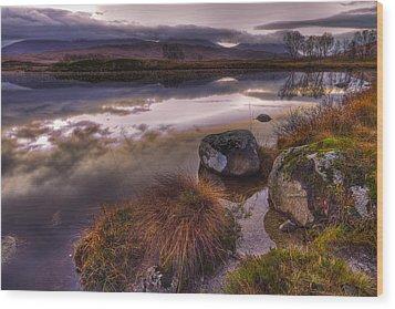 Rannoch Moor Glencoe Scotland Wood Print