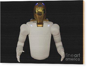 Robonaut 2, A Dexterous, Humanoid Wood Print by Stocktrek Images