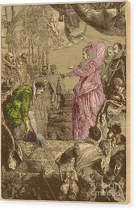 Sir Francis Drake, English Explorer Wood Print by Photo Researchers