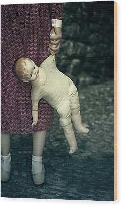 The Doll Wood Print by Joana Kruse