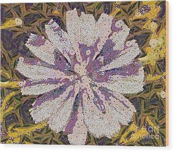 The Flower Wood Print by Odon Czintos