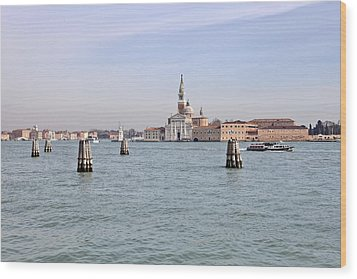 Venice Wood Print by Joana Kruse