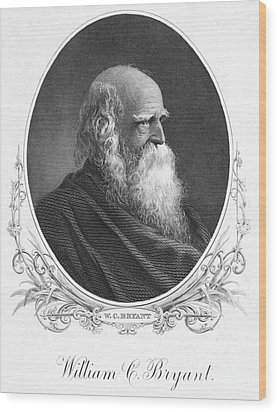 William Cullen Bryant Wood Print by Granger