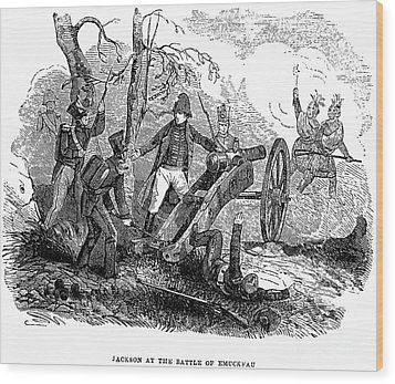 Andrew Jackson (1767-1845) Wood Print by Granger