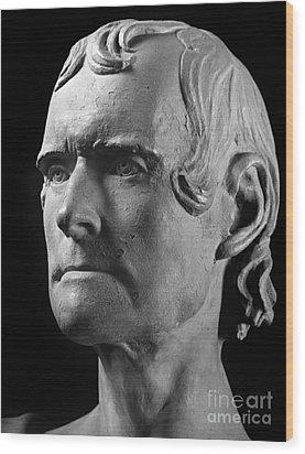 Thomas Jefferson (1743-1826) Wood Print by Granger