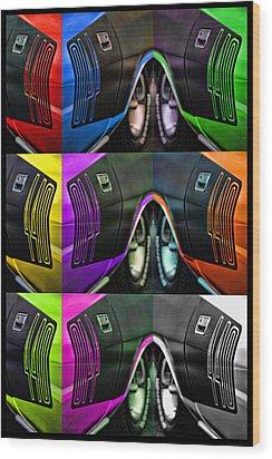 440 Cuda Billboard Pop Wood Print by Gordon Dean II