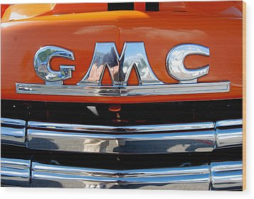 Wood Print featuring the photograph '49 G M C by John Schneider