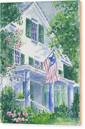 4th Of July In Georgia Wood Print by Bambi Rogers