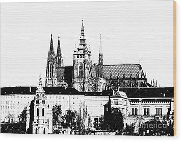 Cathedral Of St Vitus Wood Print by Michal Boubin
