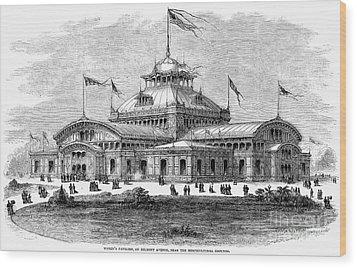 Centennial Fair, 1876 Wood Print by Granger