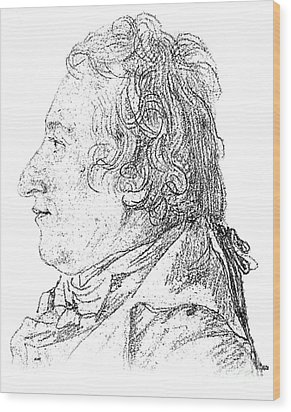 Claude-louis Berthollet, French Chemist Wood Print by Science Source