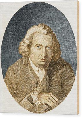 Erasmus Darwin, English Polymath Wood Print by Science Source
