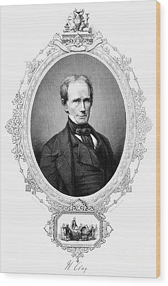 Henry Clay (1777-1852) Wood Print by Granger