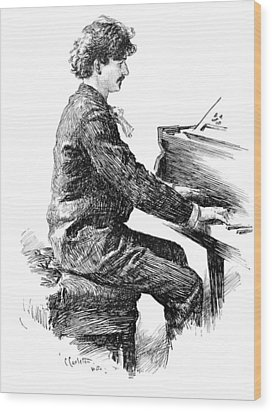 Ignace Jan Paderewski Wood Print by Granger