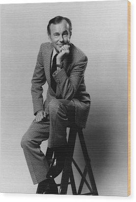 Jack Paar 1918-2004, American Wood Print by Everett