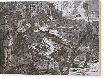 Siege Of Vicksburg, 1863 Wood Print by Photo Researchers
