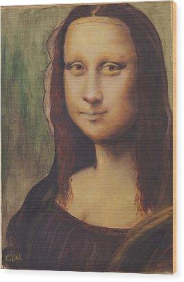 500 Years After Davinci Wood Print