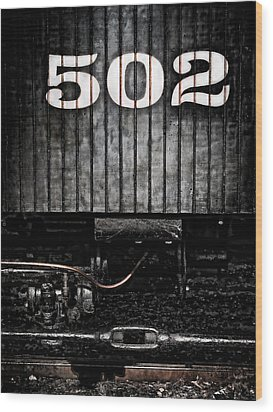502 Wood Print by Colleen Kammerer