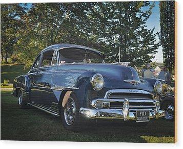 '51 Chevrolet Wood Print by Ronda Broatch
