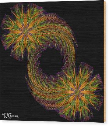 536 Wood Print