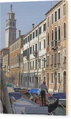 Venezia Wood Print by Joana Kruse