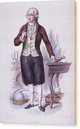 Antoine-laurent Lavoisier, French Wood Print by Science Source