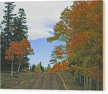 Fall Colorado Series Wood Print