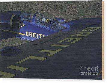 Flying With The Aero L-39 Albatros Wood Print by Daniel Karlsson
