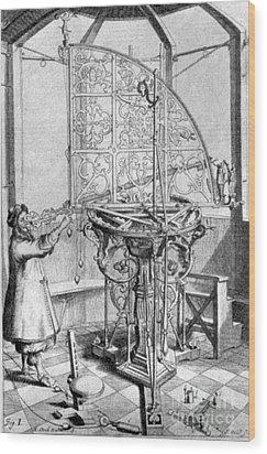 Johannes Hevelius, Polish Astronomer Wood Print by Science Source