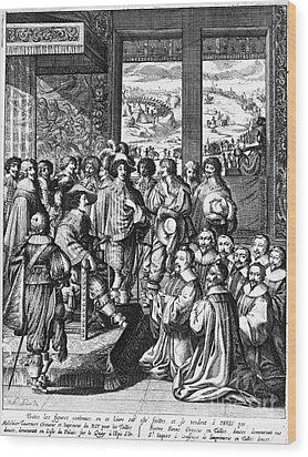 Louis Xiii (1601-1643) Wood Print by Granger