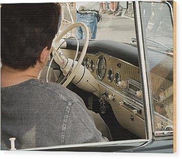 Old Car Wood Print by Odon Czintos