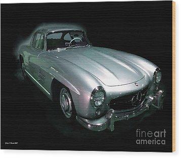 61 Mercedes Wood Print by Jerry L Barrett